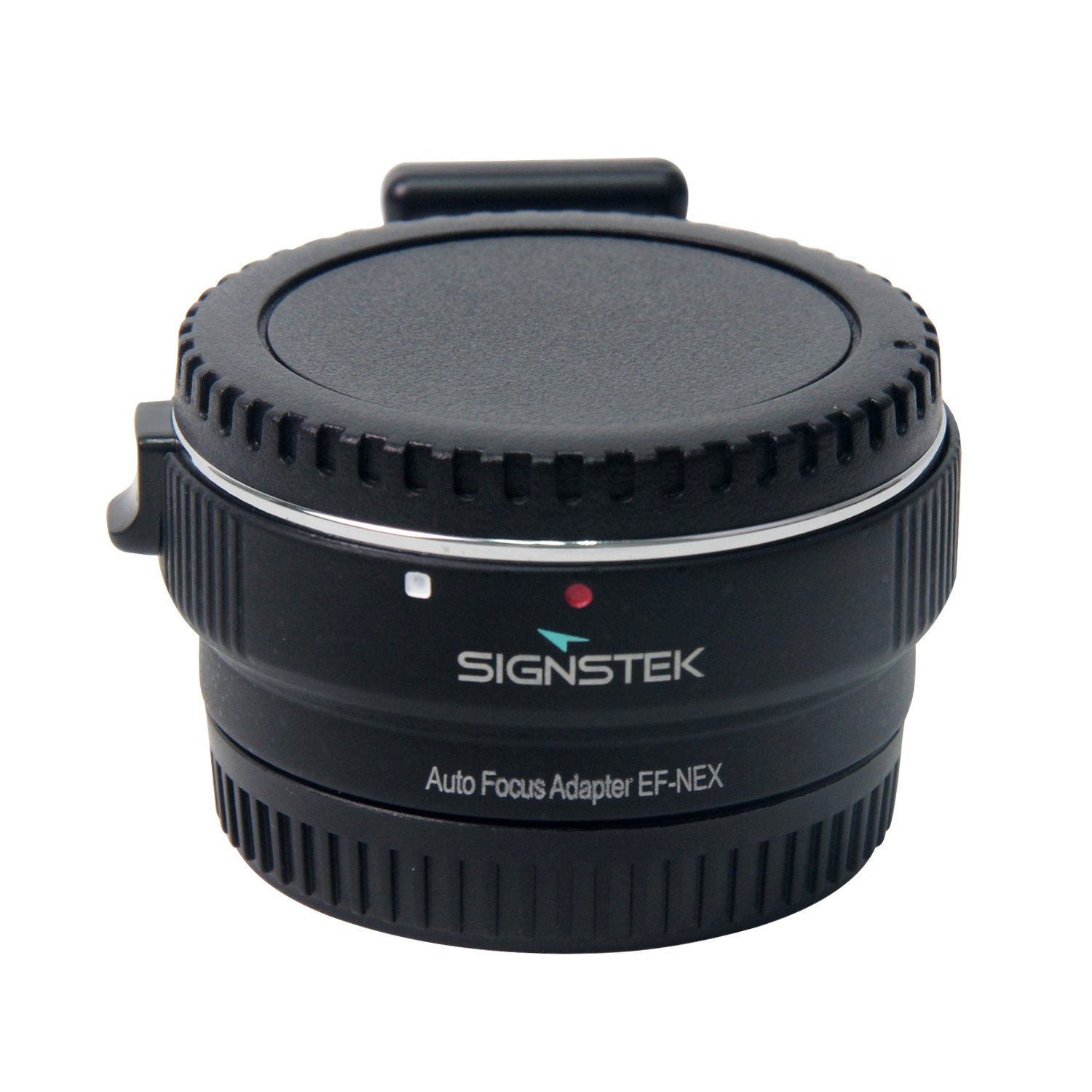 Signstek Newest Version Electronic Auto Focus EF-NEX EF-EMOUNT FX Lens Mount Adapter for Canon EF EF-S Lens to Sony E Mount NEX 3/3N/5N/5R/7/A7 A7R Full Frame by Signstek