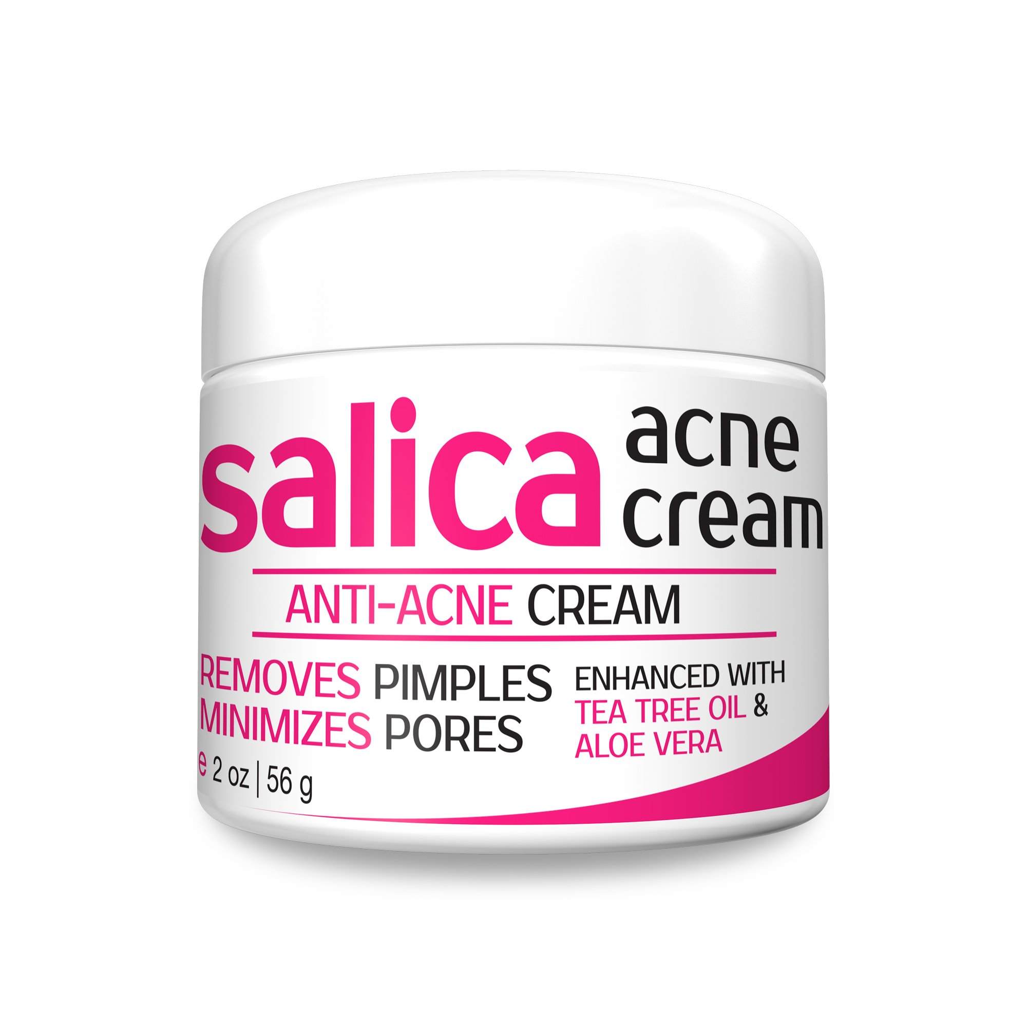 Amazon Com Salica Acne Face Wash And Cleanser With