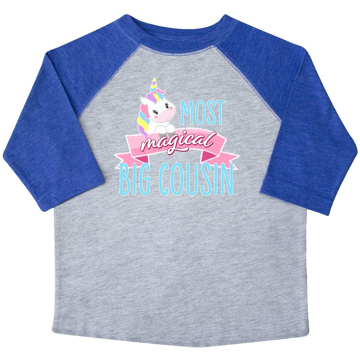 inktastic Most Magical Big Cousin Cute Unicorn Toddler T-Shirt