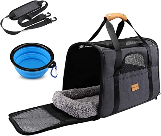 Cat And Dog Carry Lightweight Large Capacity Portable Outdoor Luggage Trolley Bag