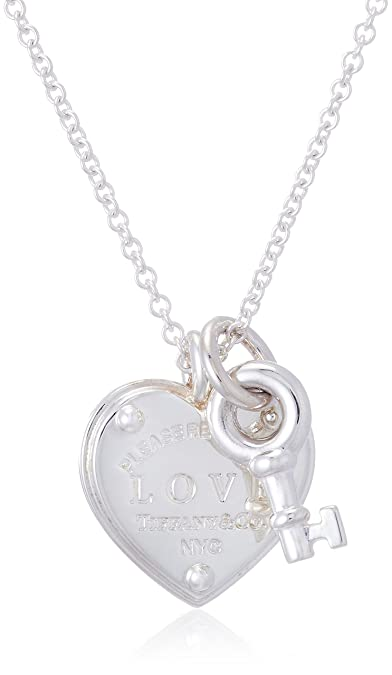 680ae88ff Tiffany Return To Tiffany Love Heart Tag Key Pendant In Sterling Silver  36339497] Tiffany Silver