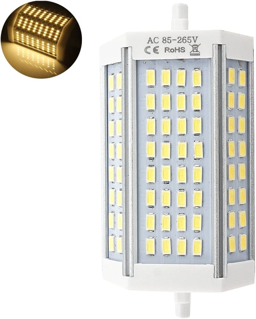 R7s LED 118mm 30w Led Regulable. Color Blanco Frío (6500K). 3000 Lumenes. Sin ventilador. A++: Amazon.es: Iluminación