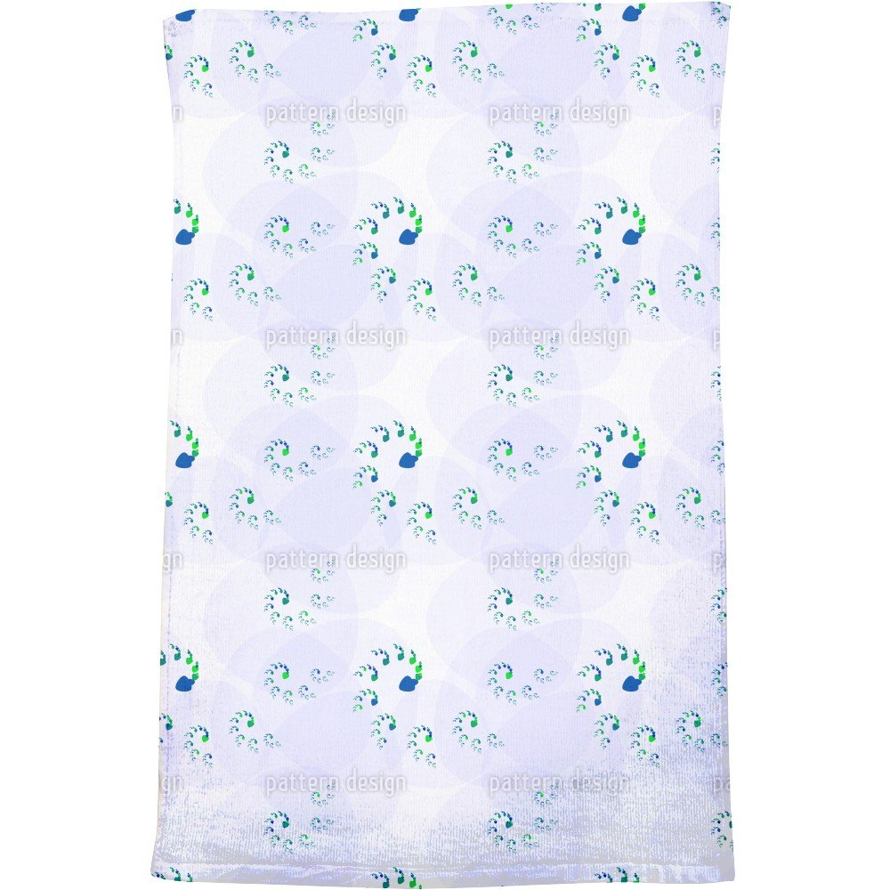 Spiral Dance Bath Towel