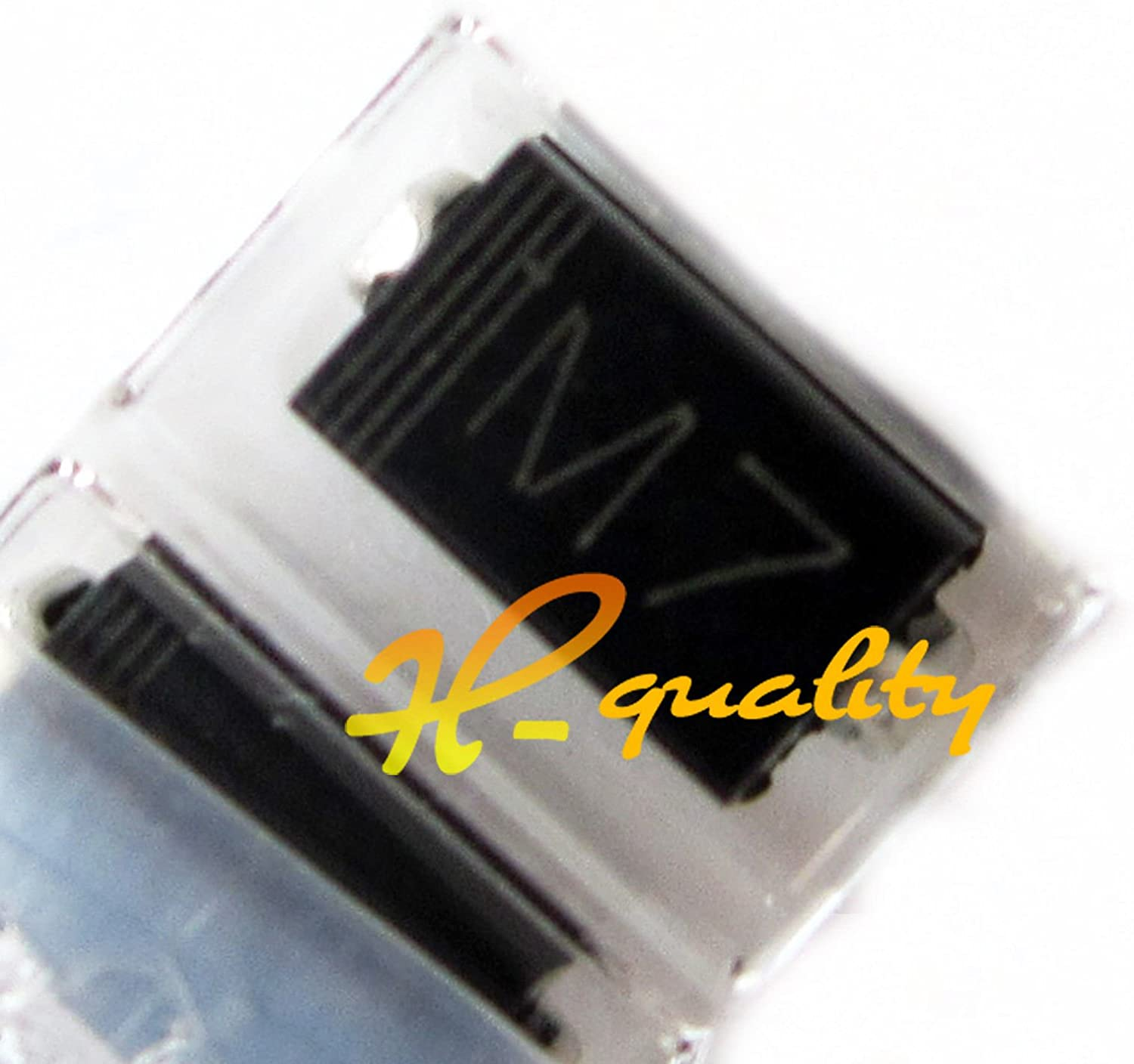 100PCS SMD 1N4007 Diode 1A 1000V IN4007 M7 DO-214AC Top