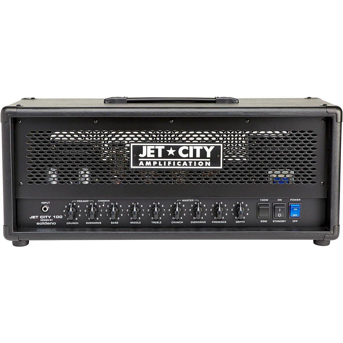 Jet City Amplification 100hdm 100w 2 Channel Head Make Original Guitar Amp Musical Instruments