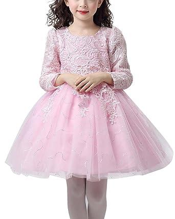 HAPPY CHERRY HAPPY CHERRY Kind Mädchen Kleid Prinzessin Kostüm ...