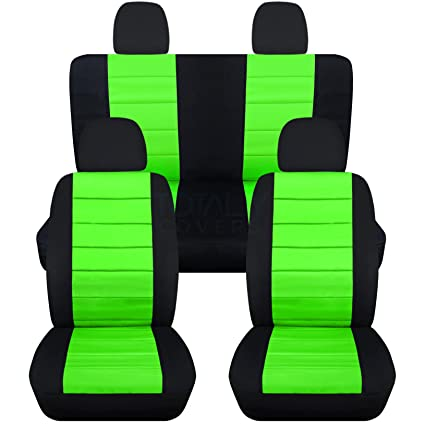 Outstanding Totally Covers Fits 2012 2018 Volkswagen New Beetle Bug A5 Seat Covers Black Lime Green Full Set Front Rear 23 Colors Split Bench Buckets Creativecarmelina Interior Chair Design Creativecarmelinacom