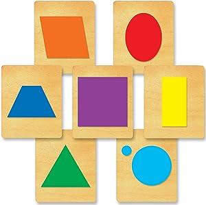 "Ellison SureCut Die 16675-LG, Geometrics, 7 Pack, 5 7/8"" x 4 7/8"" x 1"""