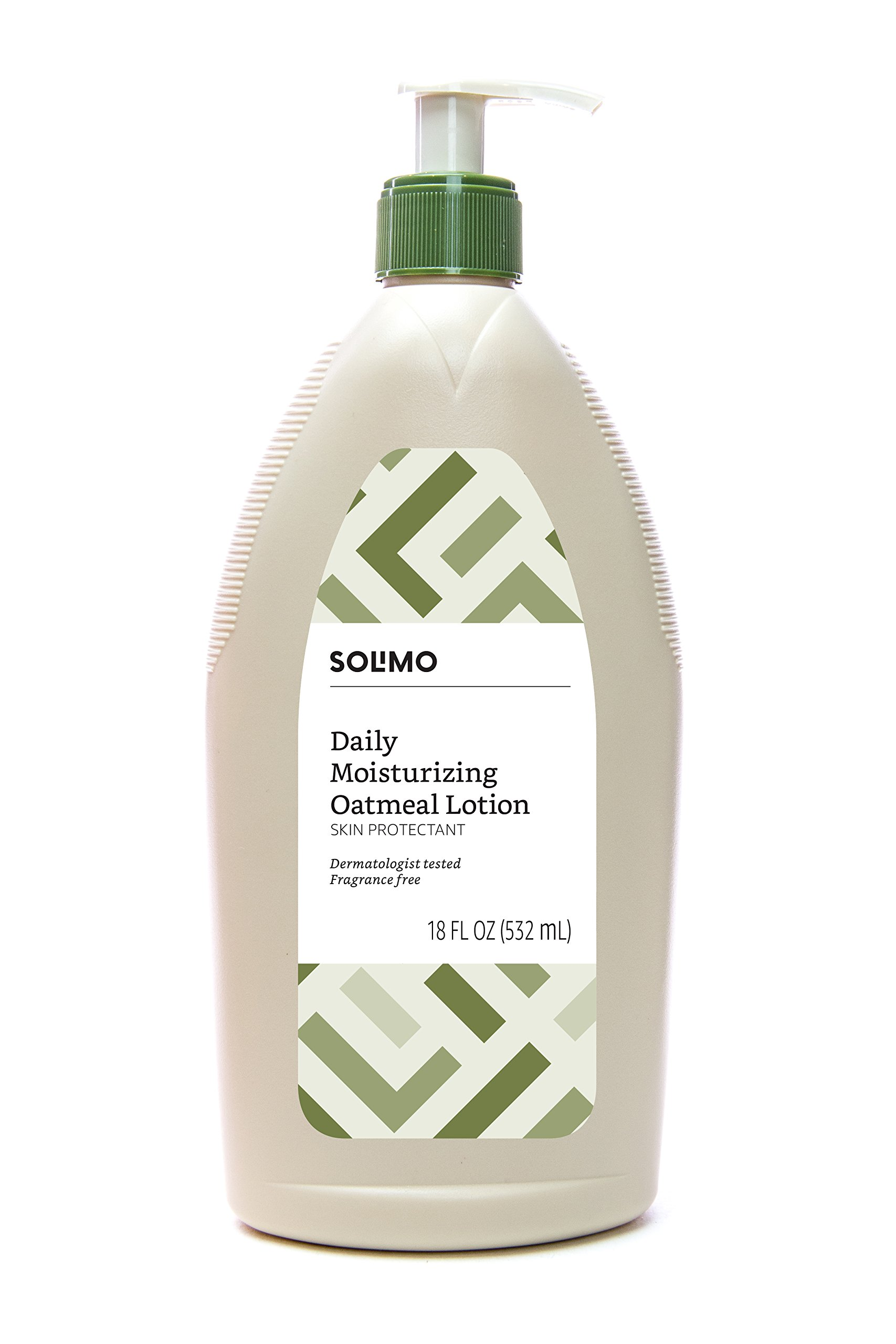 Amazon Brand - Solimo Daily Moisturizing Oatmeal Lotion, Fragrance-free, 18 Fluid Ounce (Pack of 6) by Solimo (Image #3)