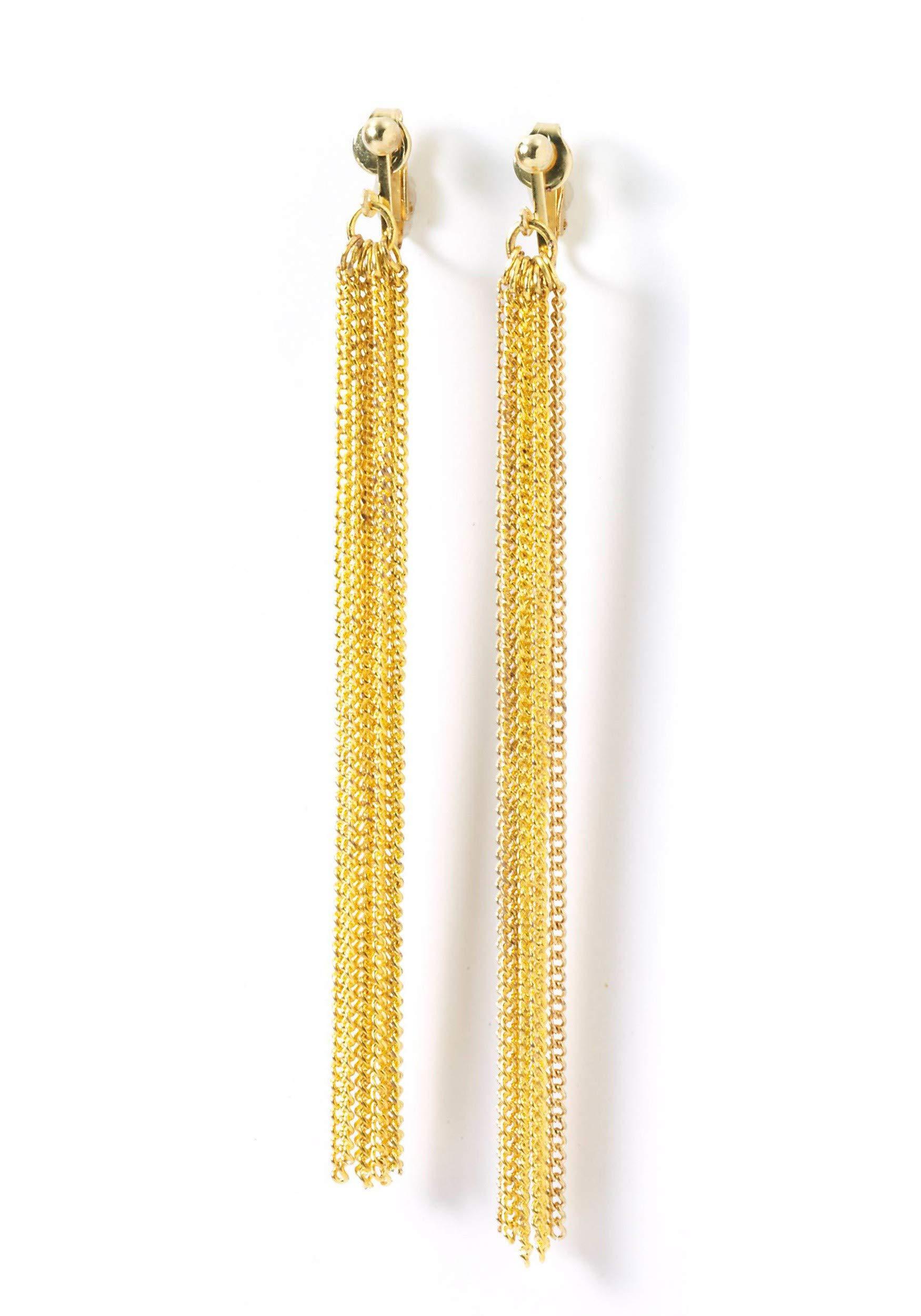 Forum Novelties Dangling Disco Earrings by Forum Novelties (Image #2)