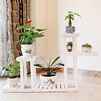 Moderne Grünpflanzen feifei moderne ideen hochwertige massivholz blumenständer standfeste