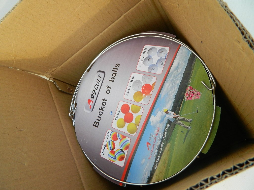A99 Golf Rainbow Foam Ball Practice 50 Pcs with Bucket by A99 Golf (Image #5)
