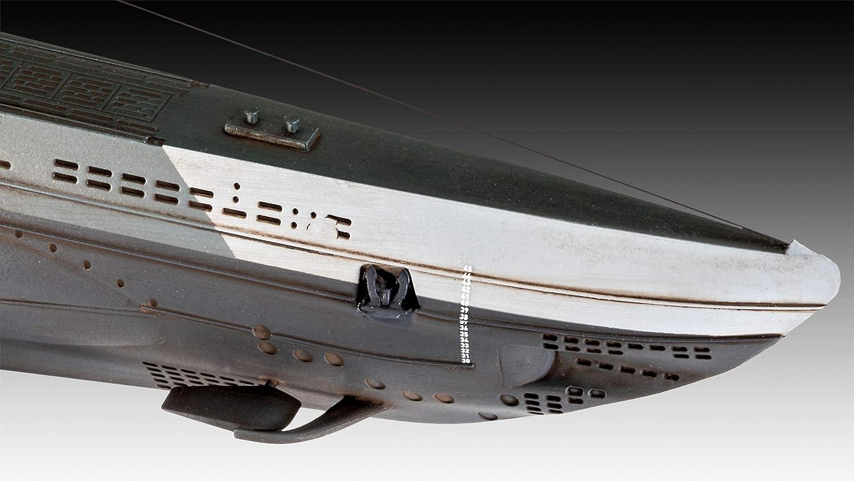 Revell German Submarine Type IIB (1943) Kit Modelo 05155: Amazon.es: Juguetes y juegos
