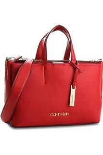 362a6187f3 Calvin Klein Metropolitan Tote - Borse Donna, Grigio (Cement/Off ...