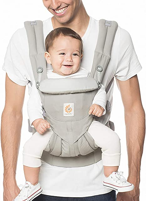 Ergo nomic Infant Insert for Baby Carrier Cotton grey New