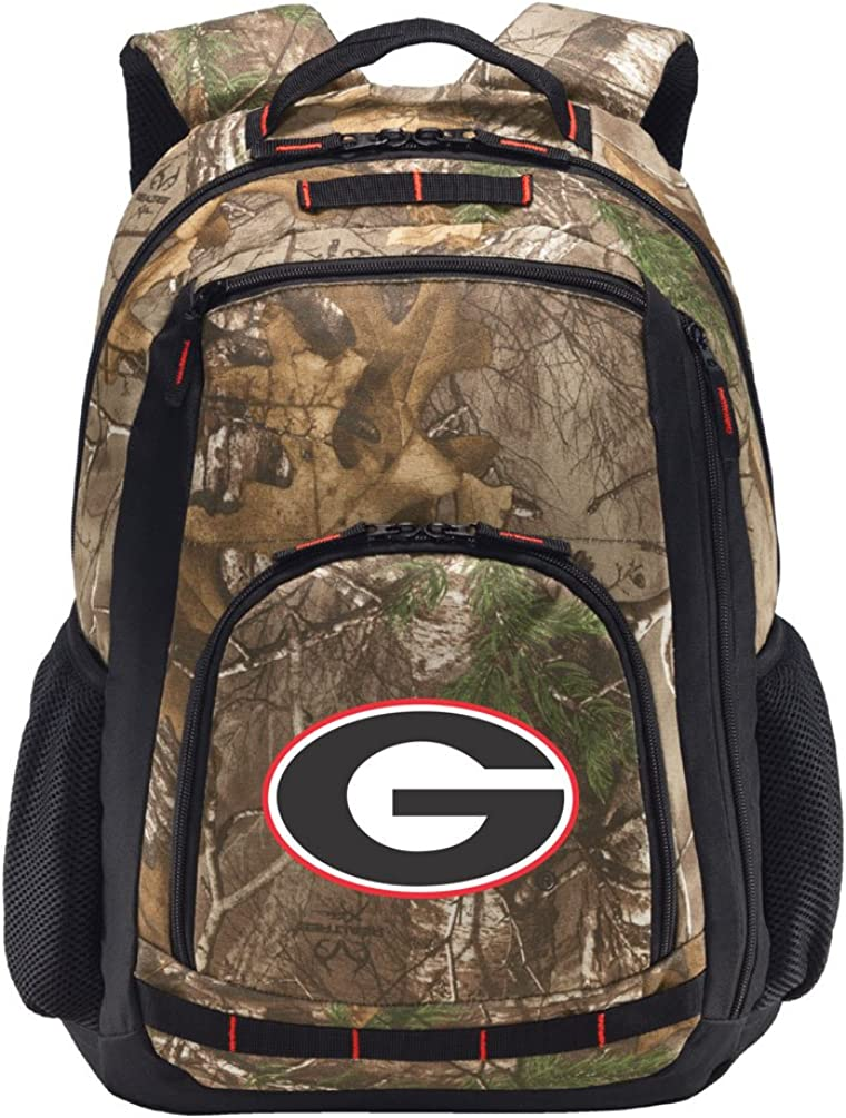 University of Georgia Camo Backpack Georgia Bulldogs Backpacks - Laptop Section!