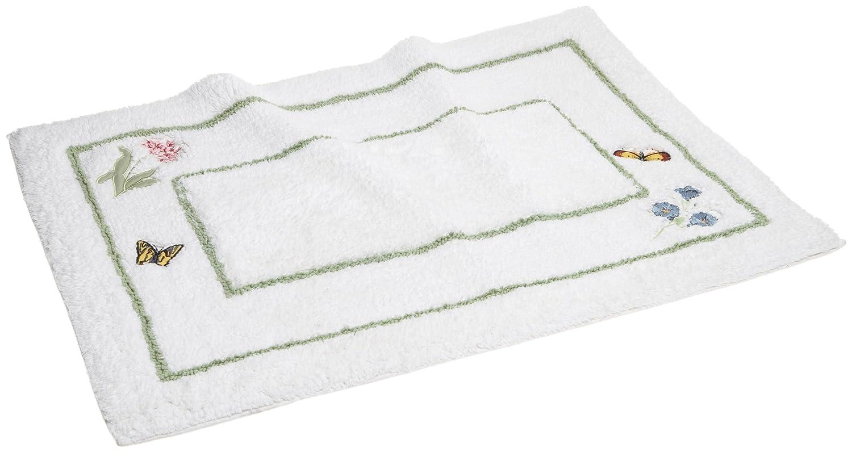 Amazon.com: Lenox Butterfly Meadow 20 By 30 Bath Rug, Multi: Home U0026 Kitchen