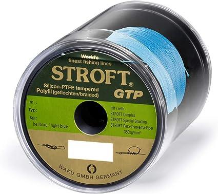 WAKU Schnur STROFT GTP Typ R Geflochtene 100m hellblau