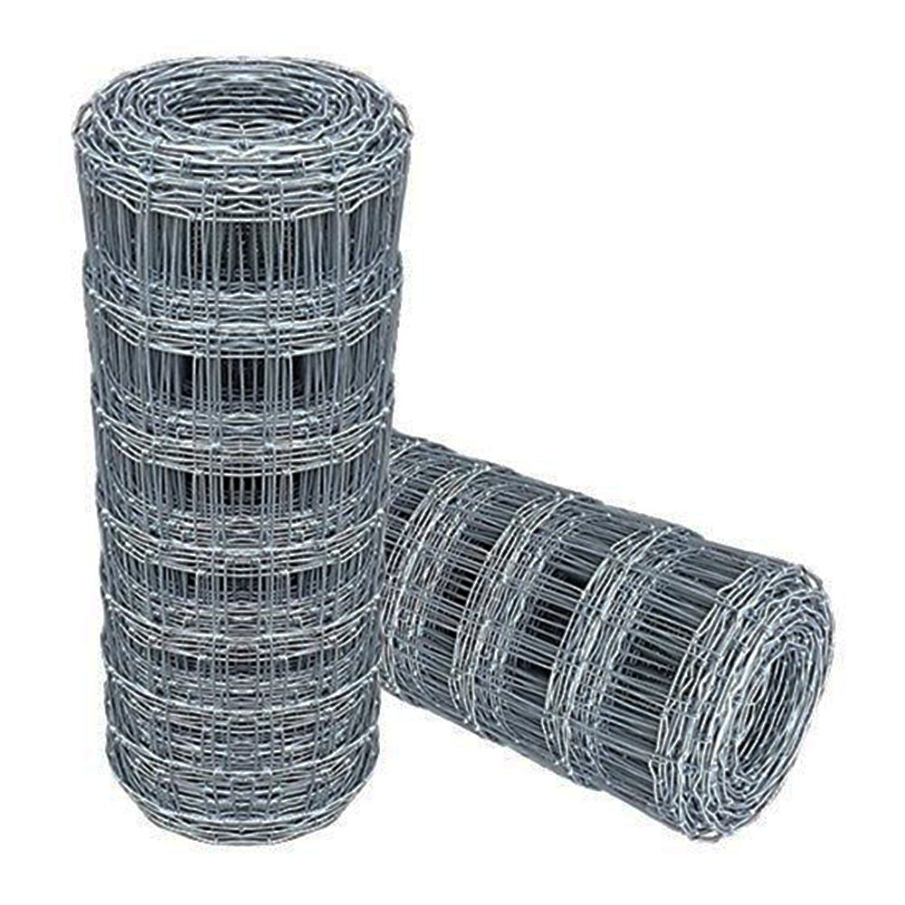 Wire Stock Fence 1.2m x 50m Livestock Fencing C10//120//30 Animal Farm Protective Border Fence