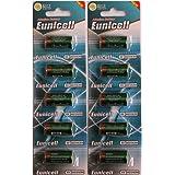 10 x 4LR44 6V ( 2 Blister a 5 Batterien ) Quecksilberfreie Alkaline Batterien PX28, 4G13, 476A, L1325 Markenware Eunicell