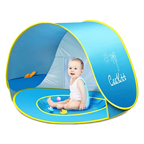 Image Unavailable. Image not available for. Color CeeKii Baby Beach Tent Kids Pop Up ...  sc 1 st  Amazon.com & Amazon.com: CeeKii Baby Beach Tent Kids Pop Up Tent Outdoor Play ...