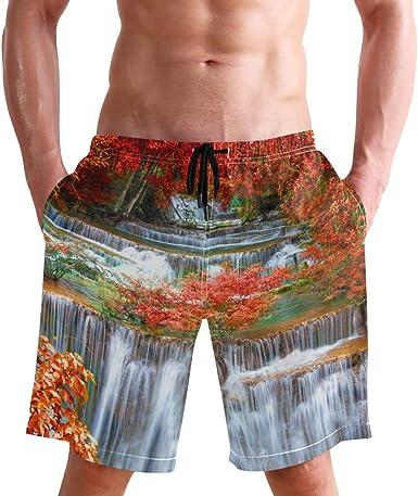 Patricks Day Quick Dry Beach Board Short with Mesh Lining WIHVE Mens Swim Trunks Shamrock St
