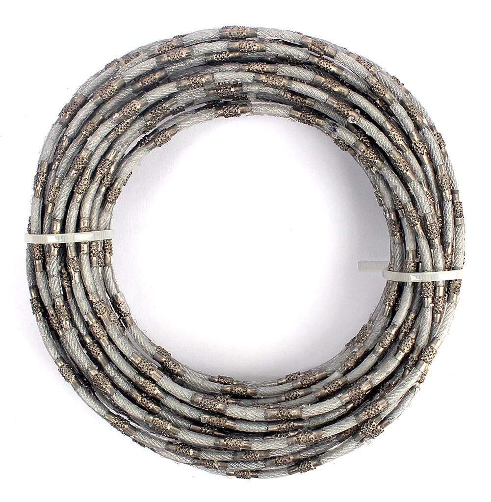 Diamond Wire Saw Mining Rope Saw 4mm Super Thin for Cutting Granite ...