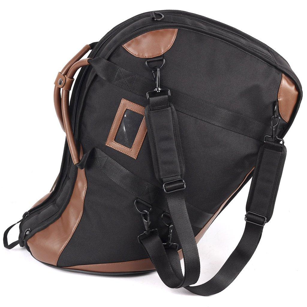 French Horn Case Instrument Portable Bag Shoulders Backpack Musical Instruments Bags