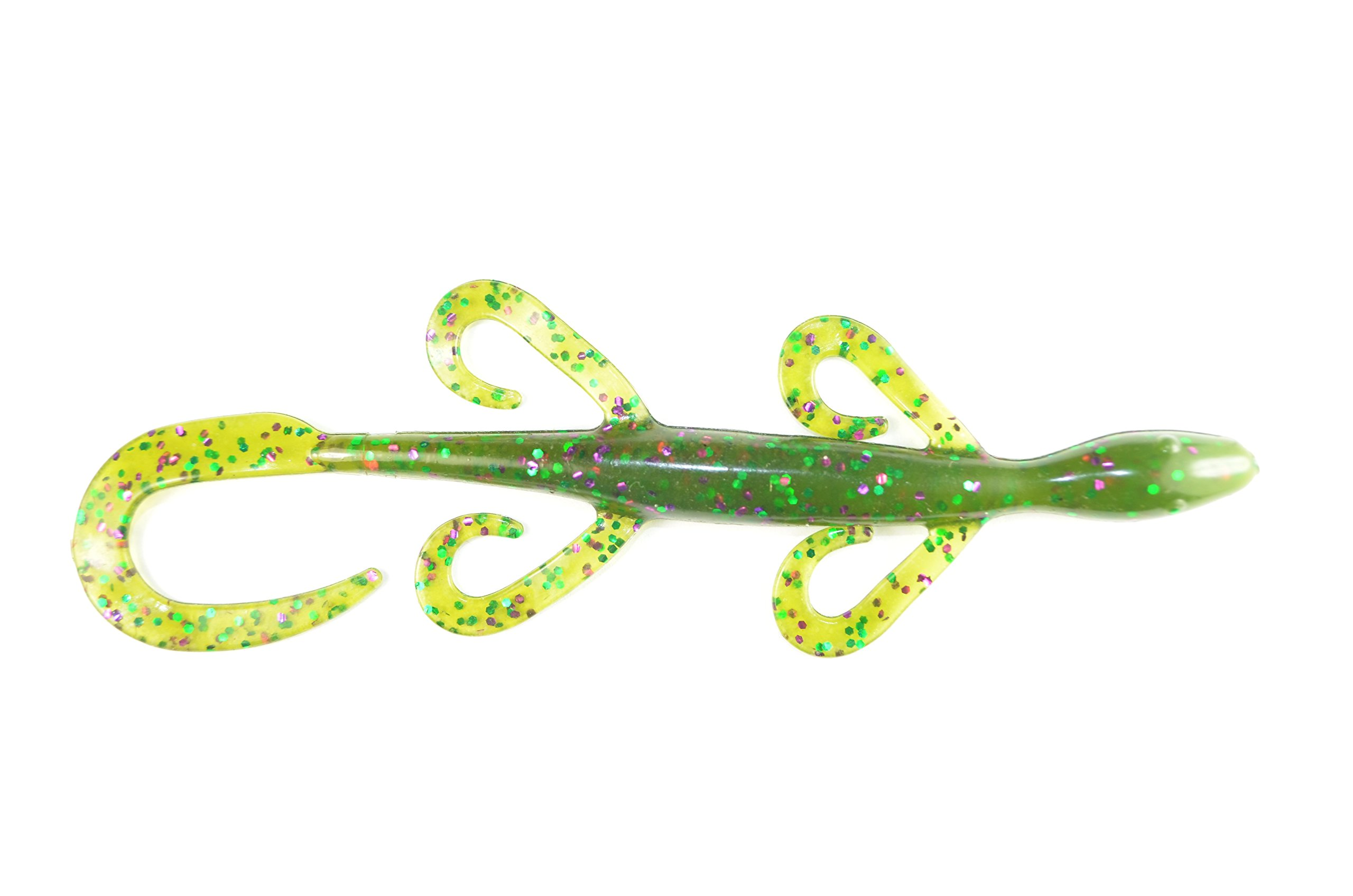 6 Inch Watermelon Candy Lizard Fishing Soft Bait