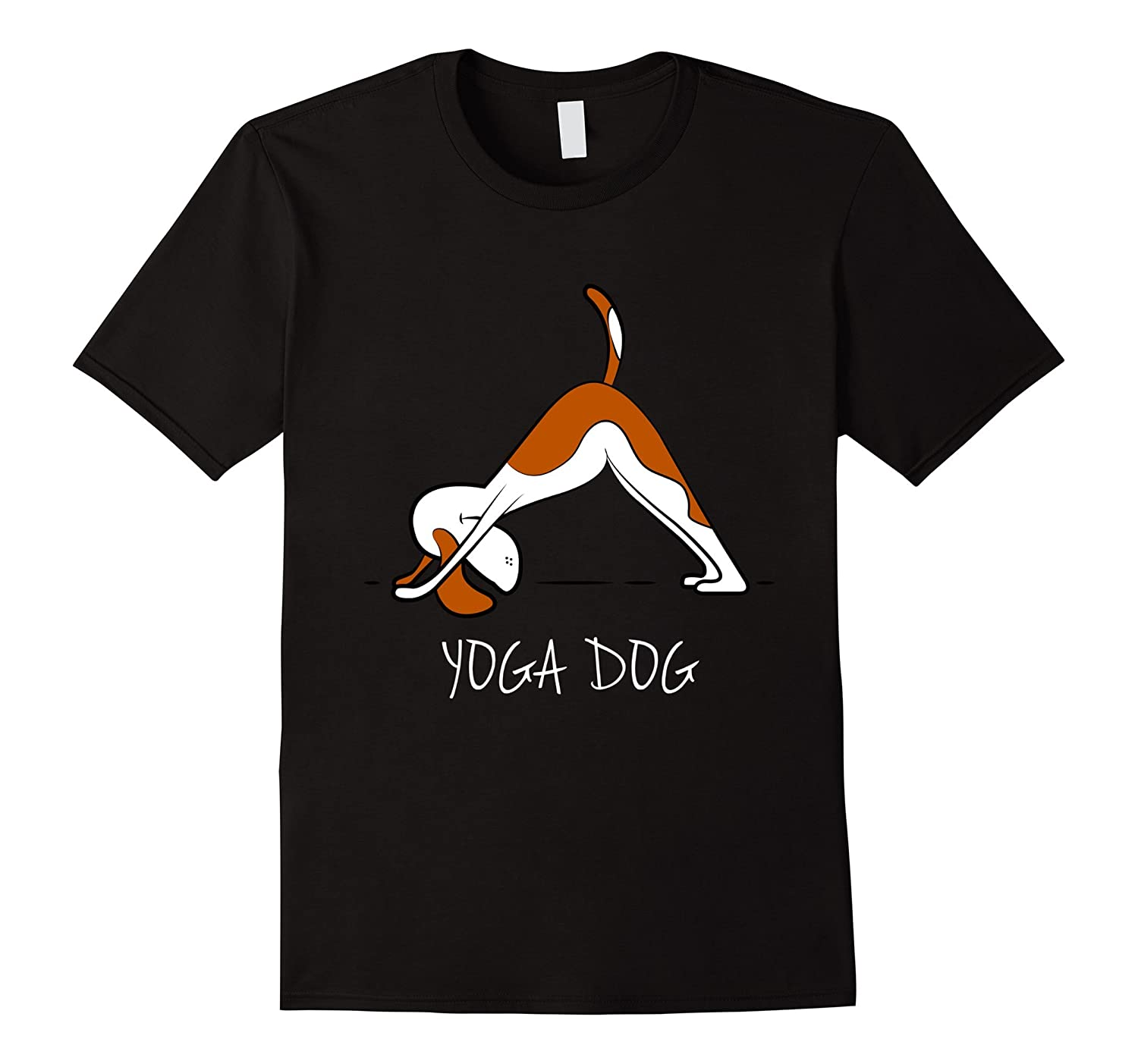 fun yoga shirts    yoga dog  Limited edition T-shirt-BN
