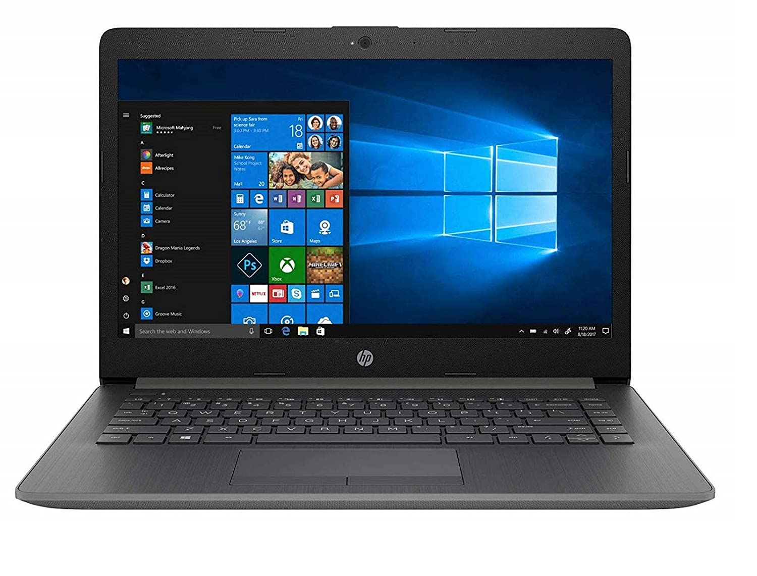 HP 14 Core i3 7th gen 14-inch