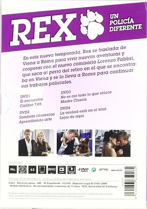 Rex (9ª temporada) [DVD]: Amazon.es: Tobias Moretti, Gedeon ...