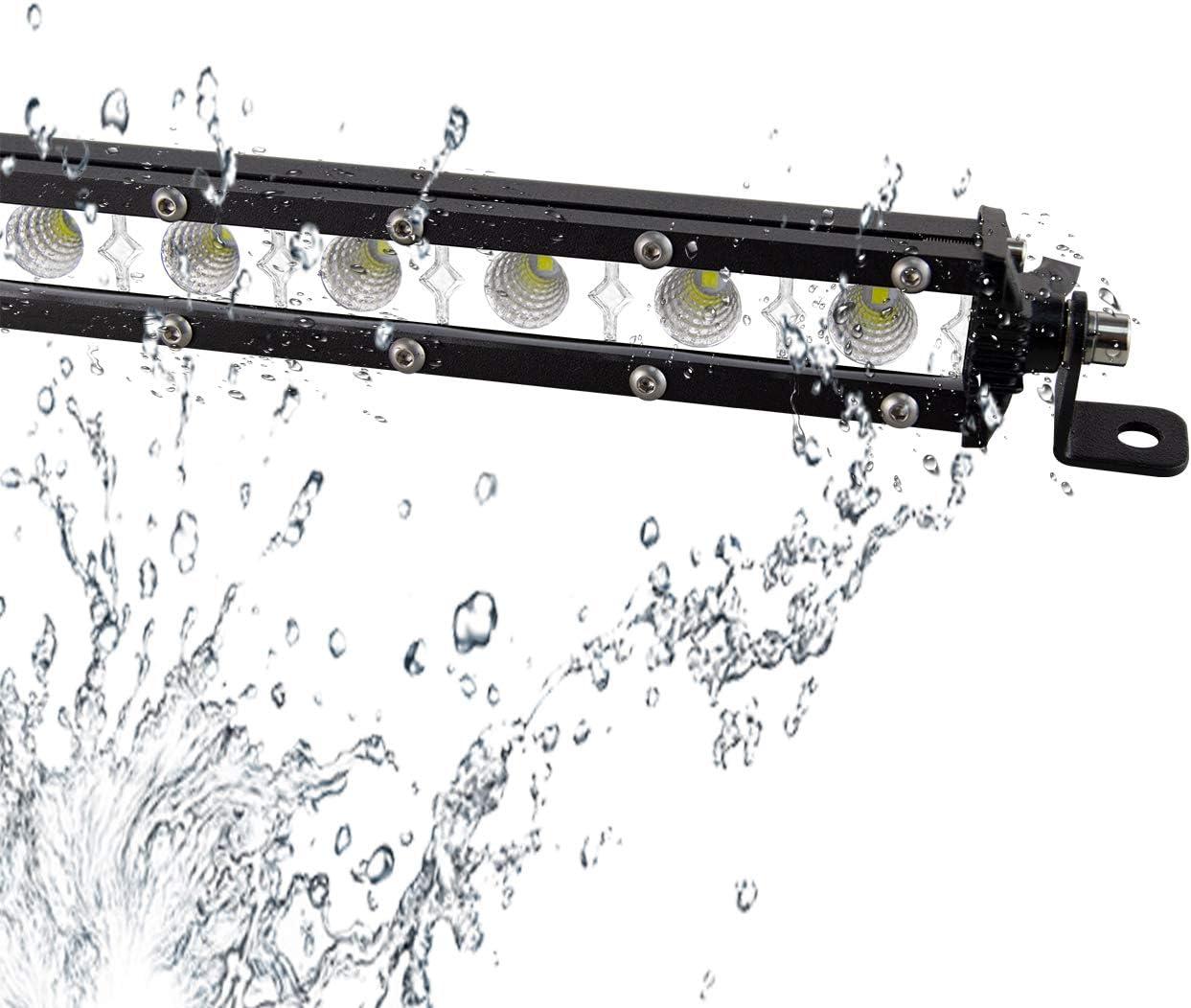 Willpower 37inch 180W Led Zusatzscheinwerfer 12V 24V Led Scheinwerfer Auto IP67 Wasserdicht Flutlicht Punkt Kombination Arbeitsscheinwerfer Led f/ür SUV UTV ATV Traktor Offroad