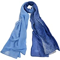 Womens Light Scarf Shawl Solid Color Fashion Soft Large Face Scarf Pashmina Wrap