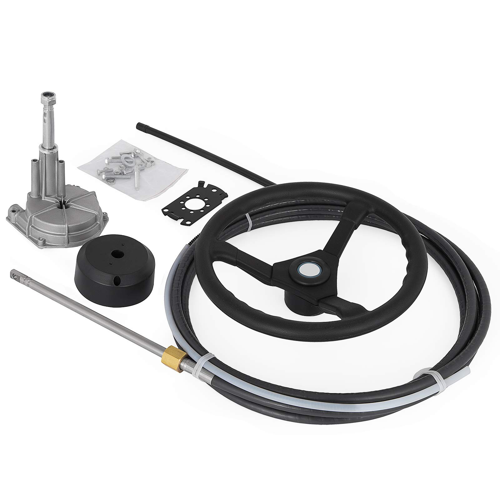 Bestauto SS13712 12 Quick Connect Rotary Steering Package with 13'' Wheel