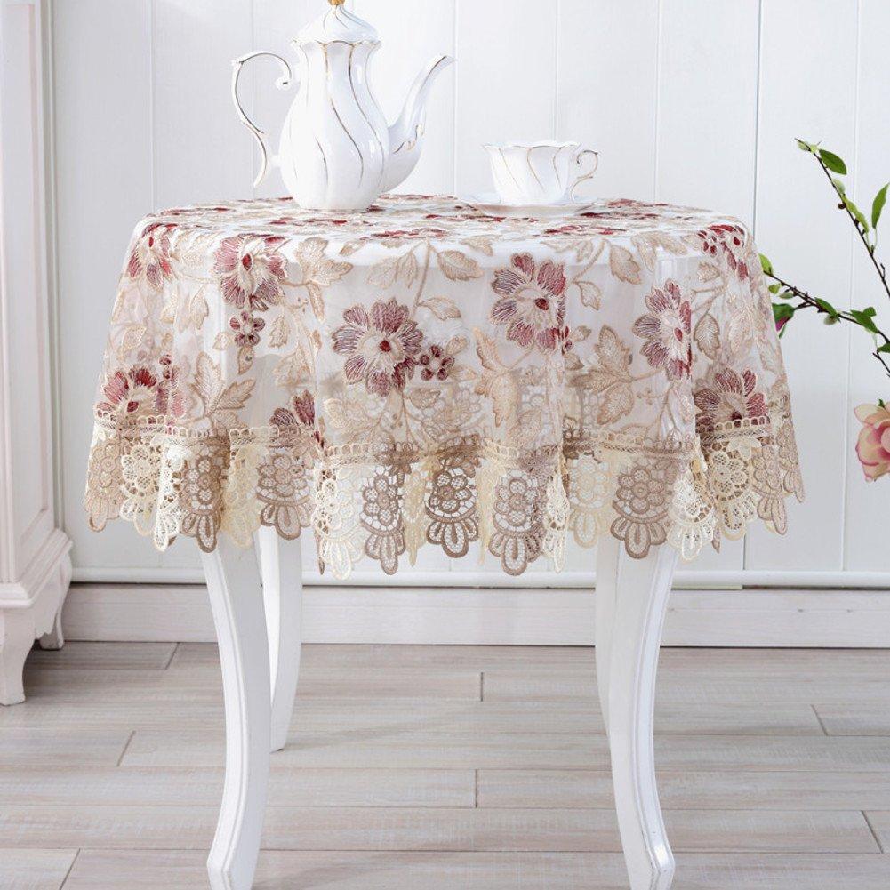 B 40x160cm(16x63inch) DE European round table,spitzen sie tischdecke,tuch handtuch tisch cloth tisch tuchC Durchmesser200cm(79inch)
