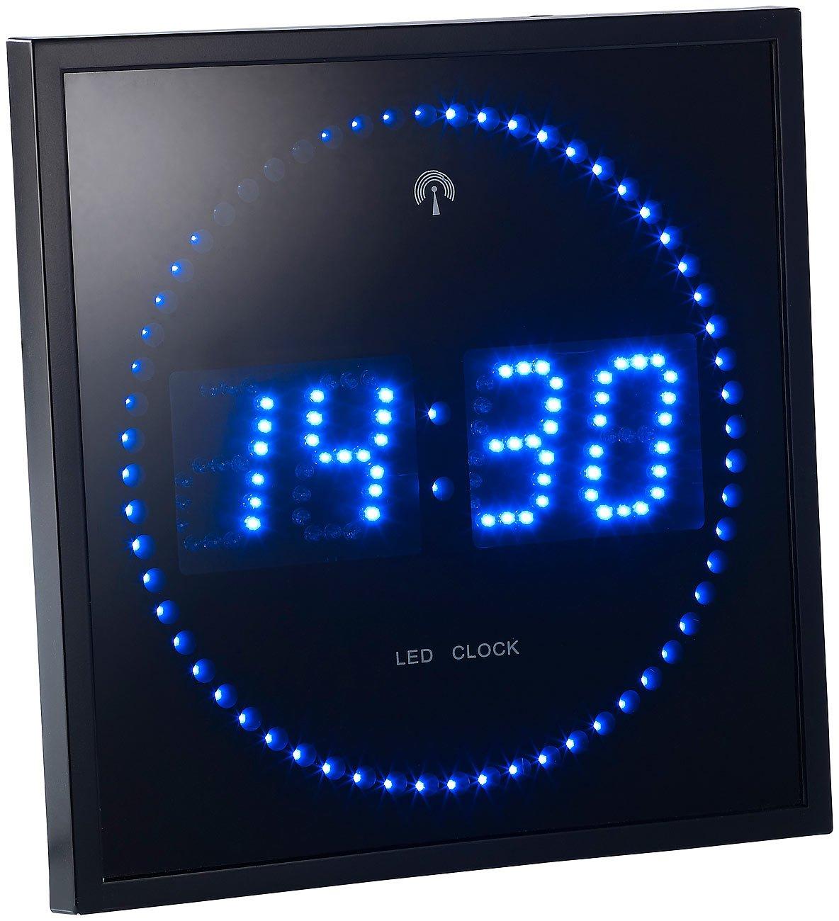 Pendule de salle de bain horloge cuisine design horloge cuisine design horloge cuisine moderne - Horloge orium led bleue ...