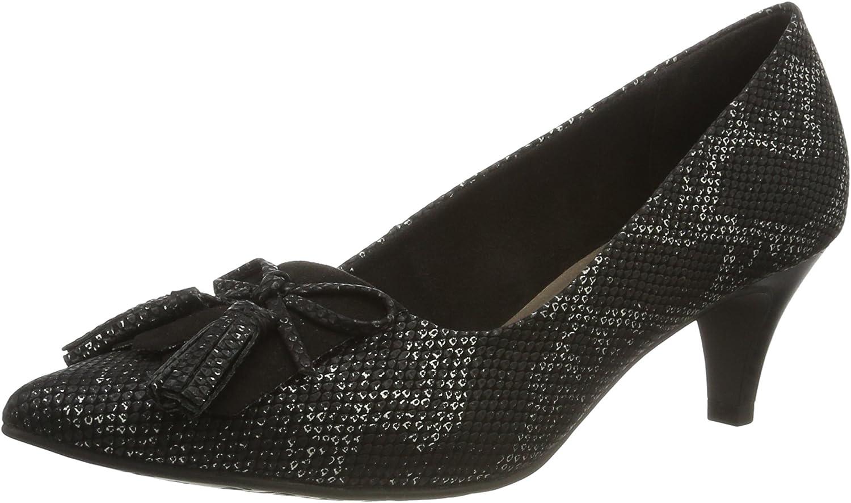 TALLA 38 EU. Tamaris 22411, Zapatos de Tacón para Mujer