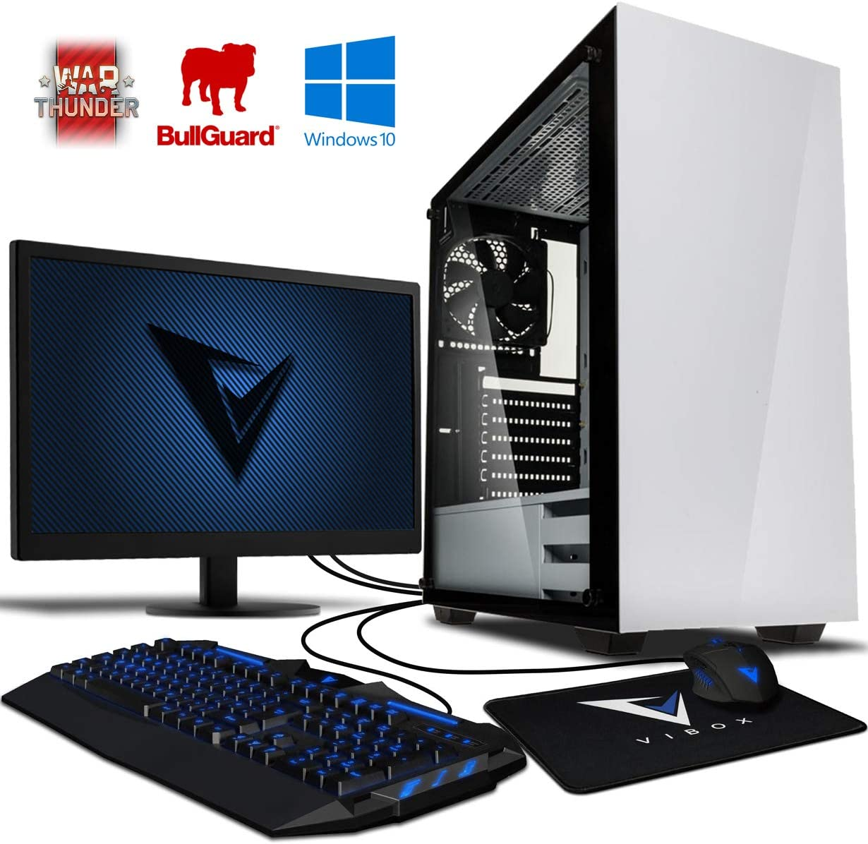 Vibox Sharp Shooter 7S Gaming PC Ordenador de sobremesa con 2 ...