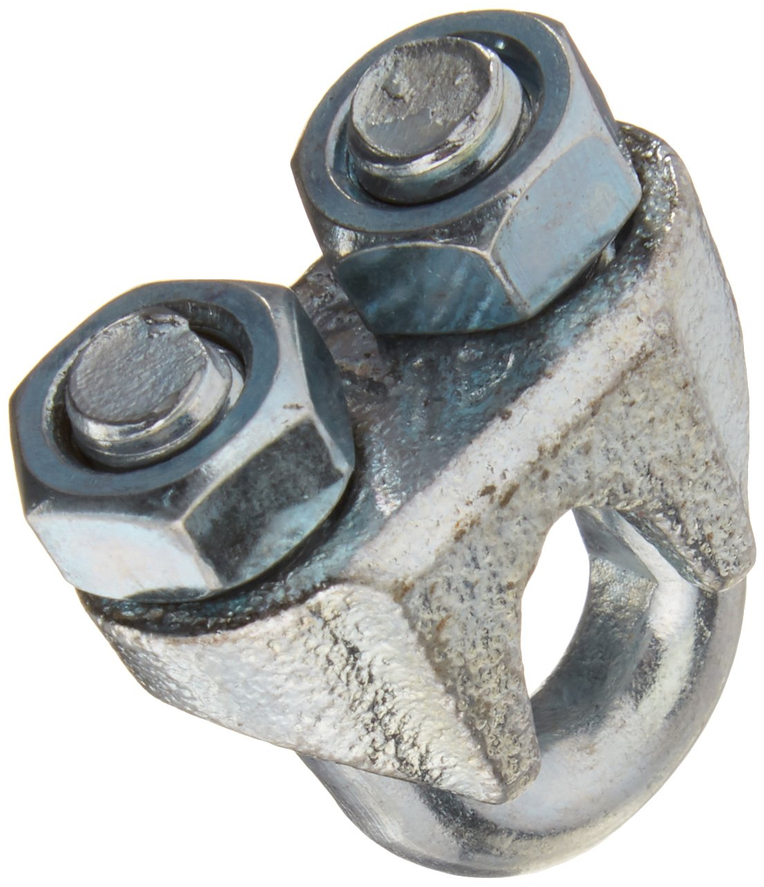 """3230BC 1/4"""" Zinc Plated Wire Cable Clamp"""
