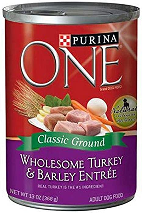 Purina One Smartblend Adult Dog Food Turkey Barley Entree Pet