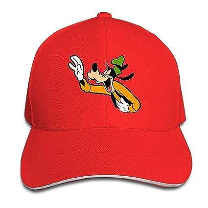 Amazon.com  GlyndaHoa Famouse Cartoon Laughing Goofy Snapback Caps Summer  Sandwich Cap Cap  Sports   Outdoors a81c6a72e7d