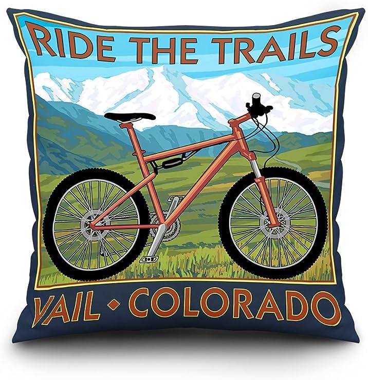 Vail, Colorado, Ride los senderos, para bicicleta de montaña: Amazon.es: Hogar