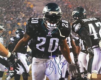 meet a2d27 9f275 Amazon.com: Brian Dawkins Philadelphia Eagles Signed 16x20 ...