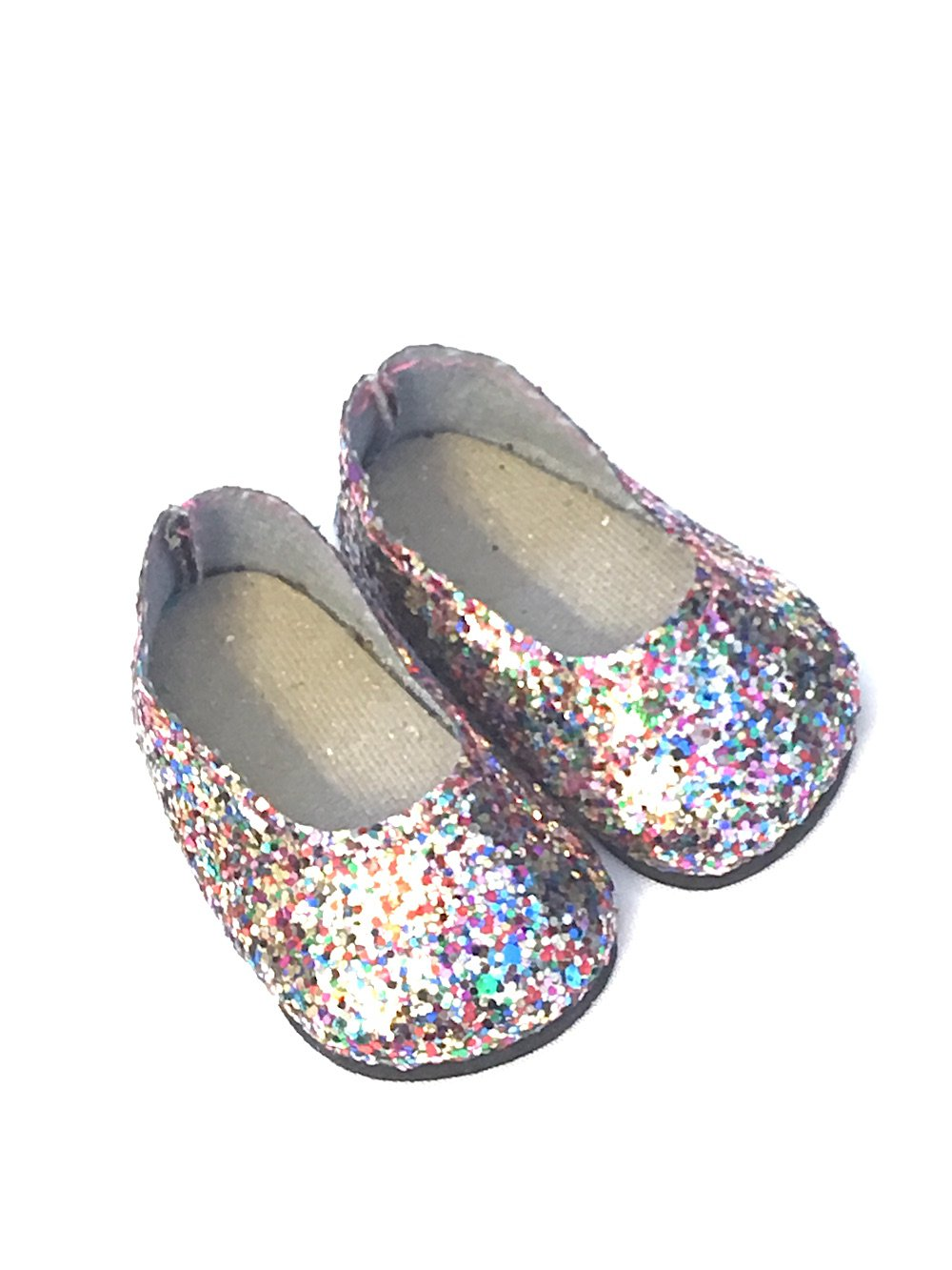 Shoes Limited Edition 18 inch Doll Clothes Accessories Various 2 Piece Sundress Set with Sparkle Shoes and Fits American Girl Dolls and Other 18 inch Dolls