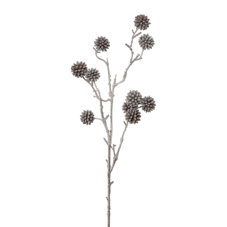 gefrostet 2er Set 68 cm wohnfuehlidee Kunstpflanze Dekozweig H/öhe ca