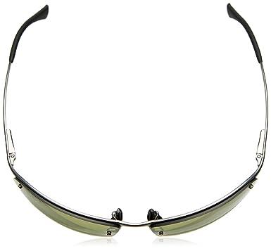 e464315bf7a Amazon.com  Ray-Ban Men s 0rb3544029 6o64metal Man Sunglass Polarized  Iridium Square