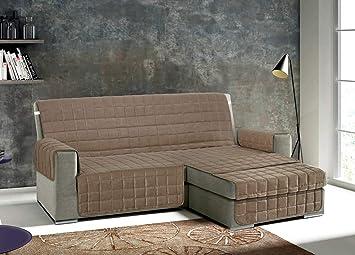 CapitanCasa Funda de sofá para sofás con Chaise Longue ...