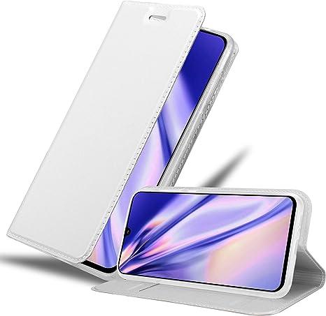 Cadorabo Funda Libro para Samsung Galaxy A90 5G en Classy Plateado ...