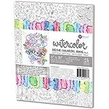 Amazon.com: Prima Marketing 8x10 Watercolor Coloring Book